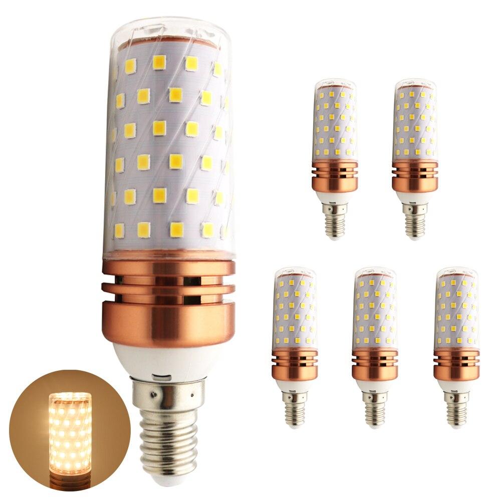 5x smd 2835 lampada led lamp e14 220v led bulbs 10w 1000 for Lampada led e14