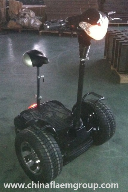 Outdoor Sports 4 Wheel Self Balance Electric Scooter 500W, 36V/12AH With Big Wheel and New Operation System