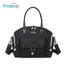 Waterproof Nylon Women Messenger Bags Leisure Fashion Fresh Women Bags  Shoulder Bags Black Color