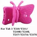 Универсальный Противоударный Задняя Крышка Case For Samsung Galaxy Tab 3 7.0 T210 T211 T210R T217 Дети T2105 Tablet Защитный Держатель