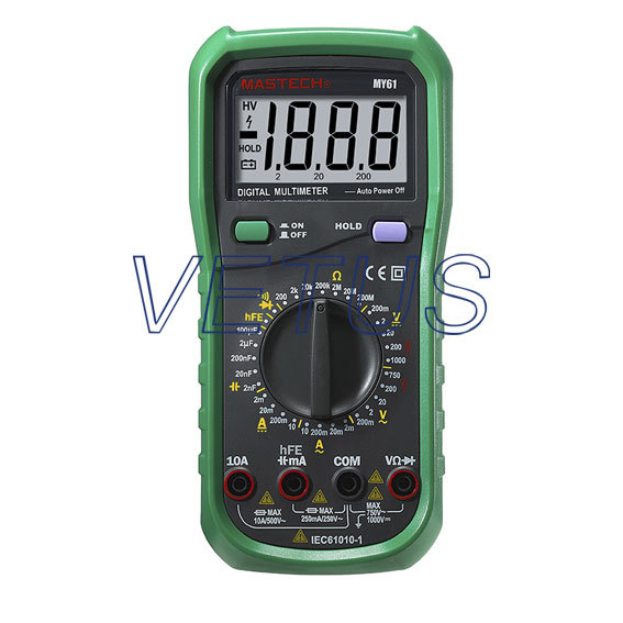 ФОТО MY61 cheap digital multimeter with Diode check