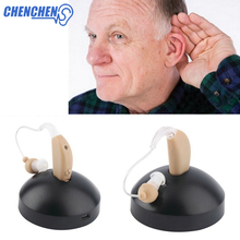 Digital Rechargeable Hearing Aid New Best Aids Behind Ear Amplifier Adjustable Audifono Care