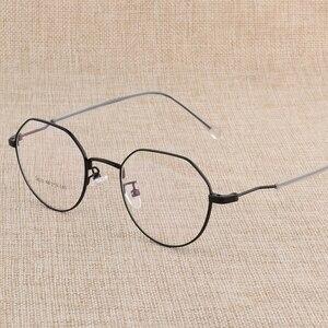 Image 2 - Hotony وصفة طبية النظارات البصرية إطار نظارات مع 6 ألوان اختيارية الجمعية الحرة مع العدسات البصرية D818