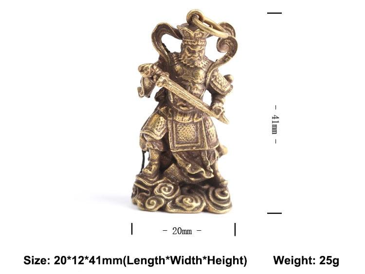 Buddha Statue keychain pendants (12)