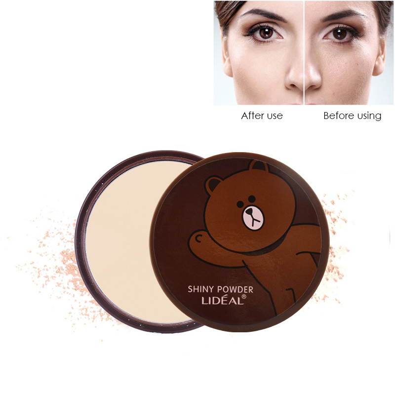 LIDEAL Brand Mineral Pressed Powder Makeup Palette Long Lasting Waterproof Oil-control Face Whitening Contour Powder