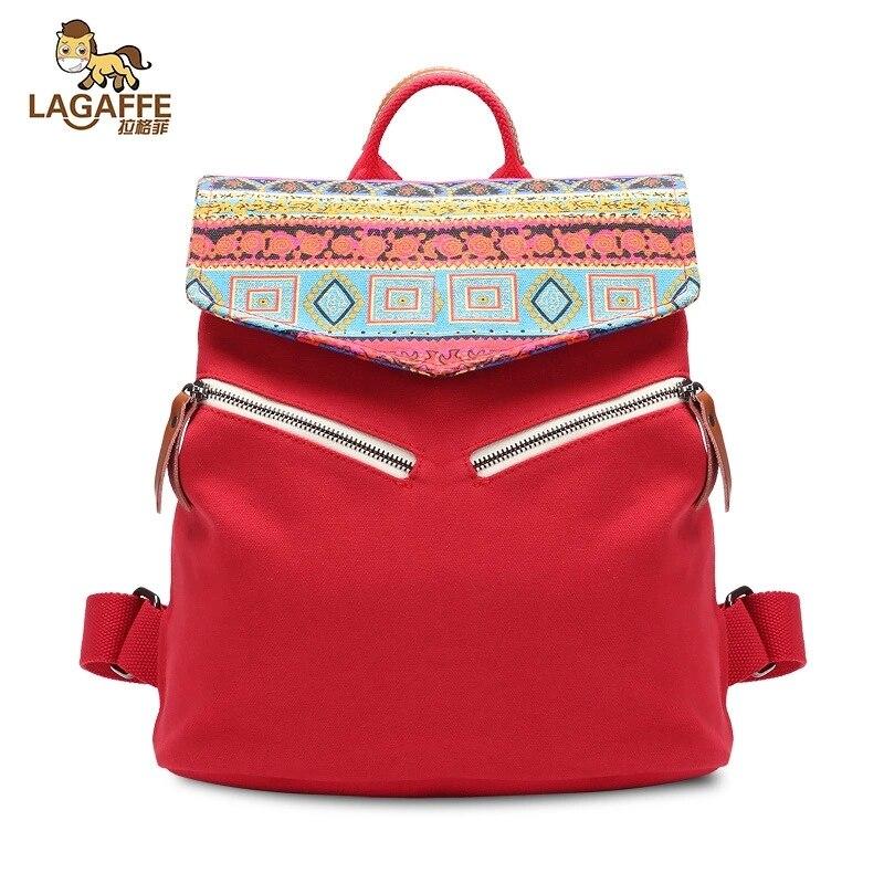 Новая мода Холст Для женщин сумка-мешок для ребенка вещи Многоразовые Мама пеленки рюкзак Национальный Стиль подгузник сумка Bolso Maternidad