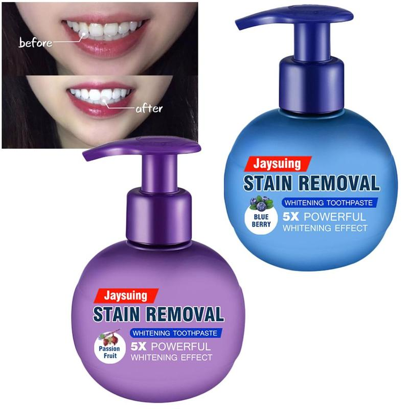 Toothpaste Stain Removal Whitening Stain Removal Whitening Toothpaste Fight Bleeding Gums Toothpaste Clareador De Dente 220g