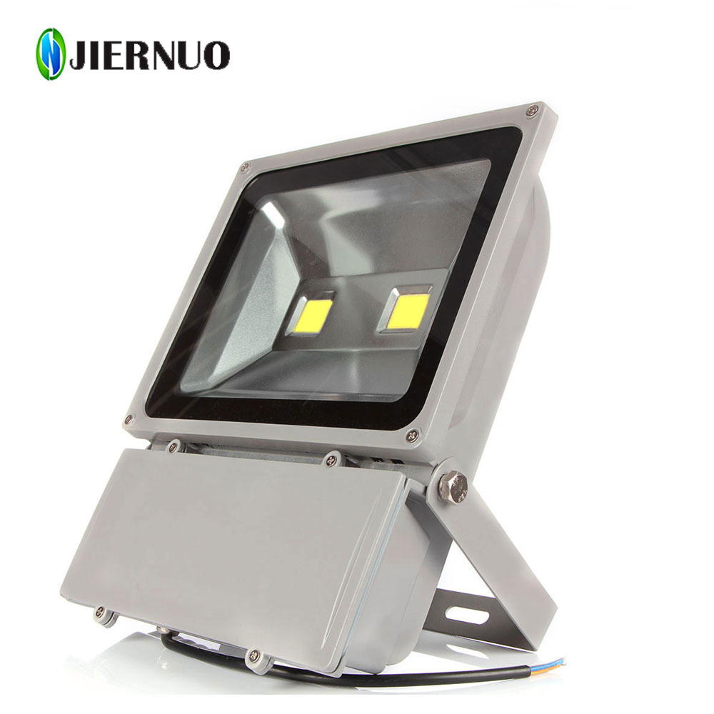 Super Bright LED Flood Light 100W White  AC85-265V Waterproof IP65 Floodlight Spotlight Outdoor Lighting Freeshipping BJ ultrathin led flood light 100w 70w white ac85 265v waterproof ip66 floodlight spotlight outdoor lighting projector freeshipping