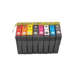 Image 3 - 8PK T1590 1590 דיו מחסניות עבור Epson STYLUS תמונה R2000 מדפסת T1590/T1591/T1592/T1593/T1594/T1597/T1598/T1599 דיו מחסנית