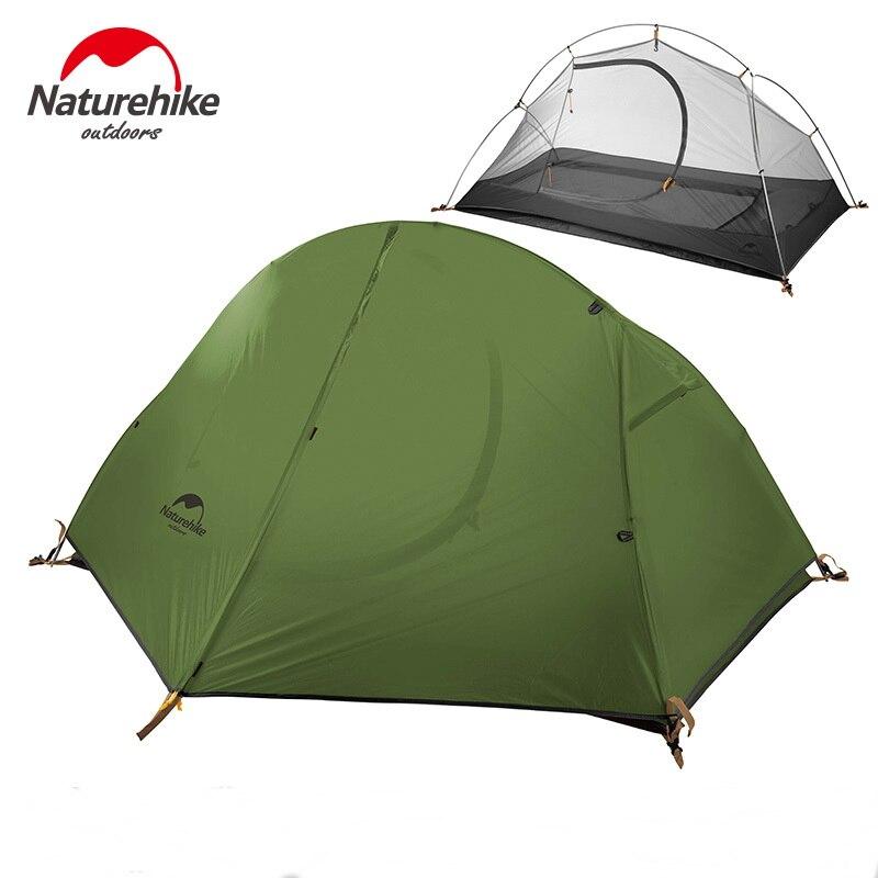 Naturehike Cycling Single Tents Waterproof 1 2 Person Backpacking Trekking Mountain PU4000 Camping Tent Ultralight 1