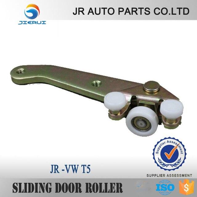 2015 Top Fashion Promotion Iso9001 For Vw Transporter T4 Car Sliding Door Roller Bottom Arm Slider Caravelle Guide Left x2 SETS