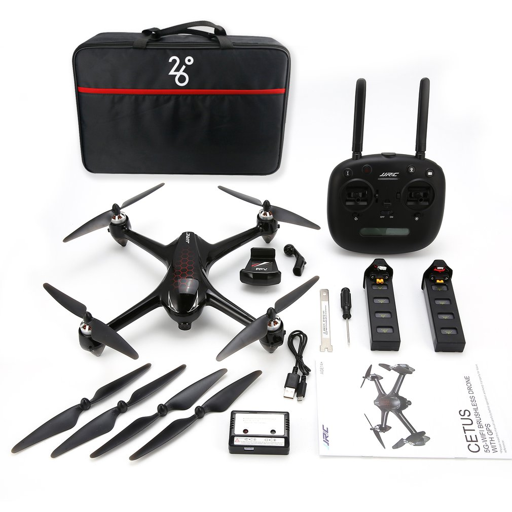 JJR/C X8 RC Helicopter 2.4G Brushless Motor RC Drone With 5G WiFi FPV 1080P HD Camera GPS Quadcopter Double/Three BatteriesJJR/C X8 RC Helicopter 2.4G Brushless Motor RC Drone With 5G WiFi FPV 1080P HD Camera GPS Quadcopter Double/Three Batteries