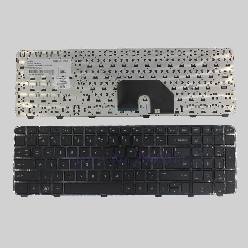 US laptop Keyboard for HP Pavilion DV6 DV6T DV6-6000 DV6-6100 DV6-6200 DV6-6b00 dv6-6c00 Black English NSK-HWOUS OR 665937-251 us laptop keyboard for hp pavilion dv6 dv6t dv6 6000 dv6 6100 dv6 6200 dv6 6b00 dv6 6c00 black english nsk hwous or 665937 251
