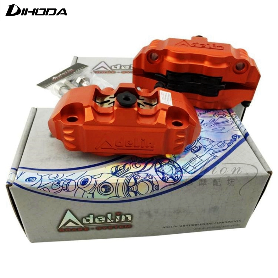 Adelin ADL-14 Motorcycle modification electric motorcycle four piston brake calipers For WISP RSZ YAMAHA small radiation adelin adl 21 motorcycle modification electric motorcycle double piston brake calipers for wisp rsz yamaha small crab calipers