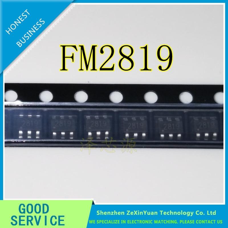 30PCS FM2819 2819 SOT23-6 NEW