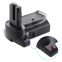 Andoer Grip BG 2V Professional Vertical Battery Grip Camera Battery Grip Holder Compatible for Nikon D3400 Camera