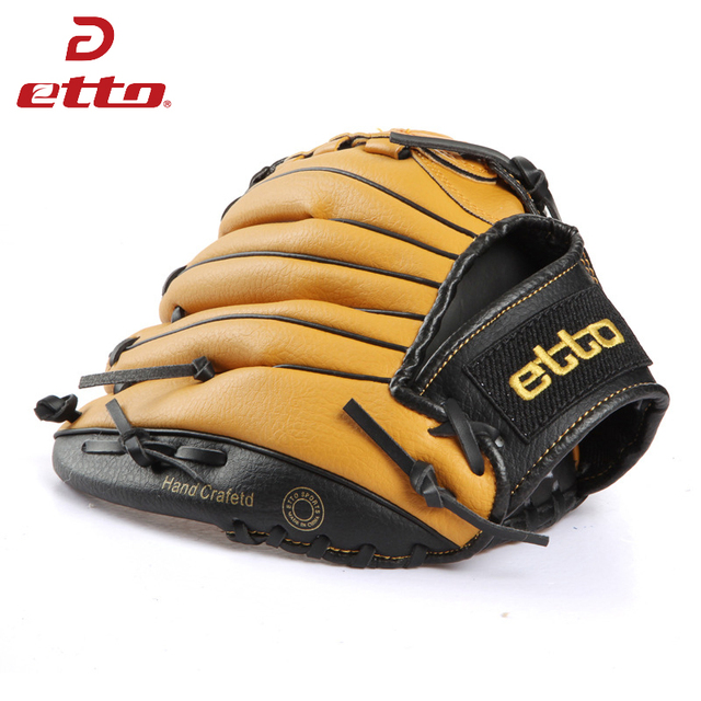 Etto 11.5 12.5 Inch Male Professional Left Hand Baseball Glove Beisbol Training Sport Glove For Match Softball Boy Child HOB002Z 2