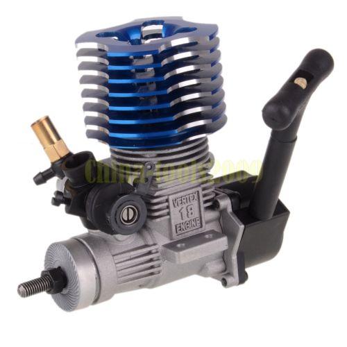 HSP 02060 VX 18 Engine 2 74cc Pull Starter Purple RC 1 10 Nitro Car On