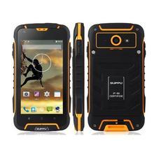 "Original JEEP F6 MTK6582 Quad Core 3G Smartphone Resistente A Prueba de agua 4.5 ""IPS Android 4.4 1 GB RAM 8 GB ROM 8MP Dual SIm GPS WCDMA"