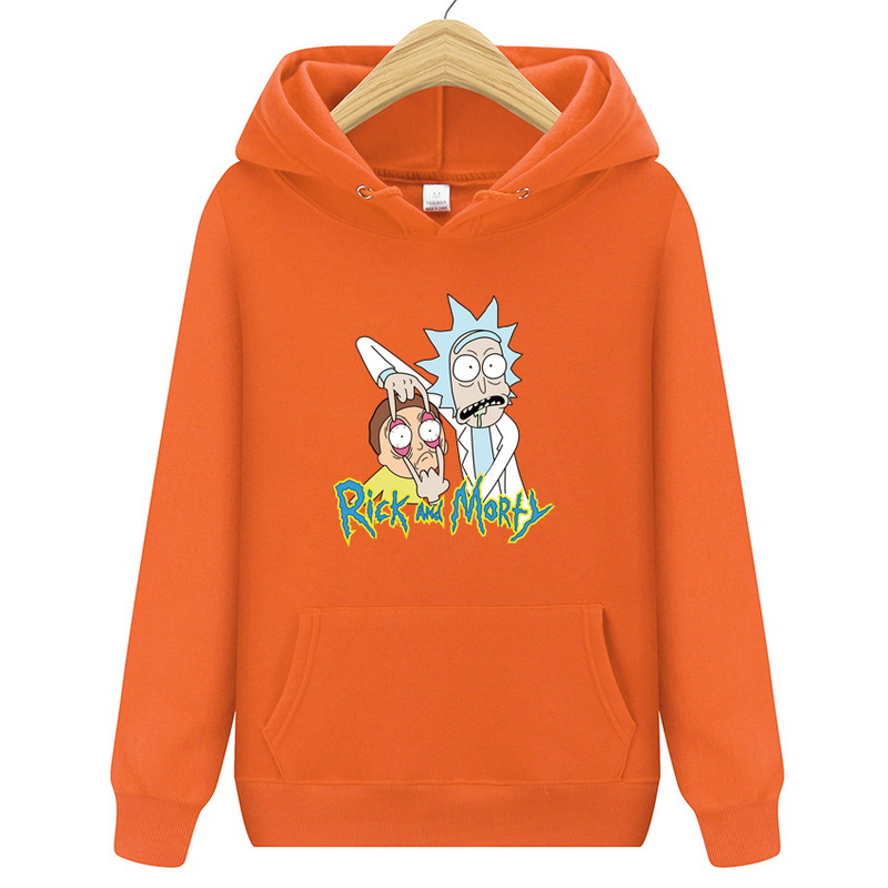 Men's Clothing 2019 New Brand Rick Morty Hooded Men Women Hoodies Sweatshirt Men Skateboards Male Rick Morty Cotton Hooded Sweatshirt