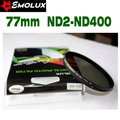 77mm Emolux Slim Neutral Density Filter ND2-400 Variable Fader Filter Adjustable ND2 to ND400 For Camera Lens