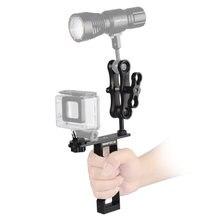 Экшн камера поднос для дайвинга одна рукоятка алюминиевая ручка