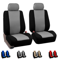 Dewtreetali Front Seat Cover Universal Full Car Seat Protector Interior Accessories Four Seasons For VW BMW