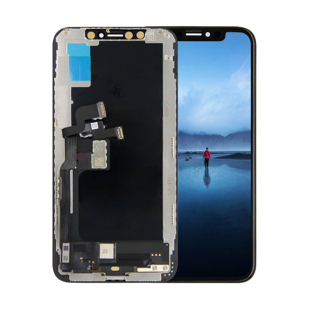 For iPhone XS LCD Display Touch Screen Digitizer Glass Assembly Replacement + Free ToolsFor iPhone XS LCD Display Touch Screen Digitizer Glass Assembly Replacement + Free Tools