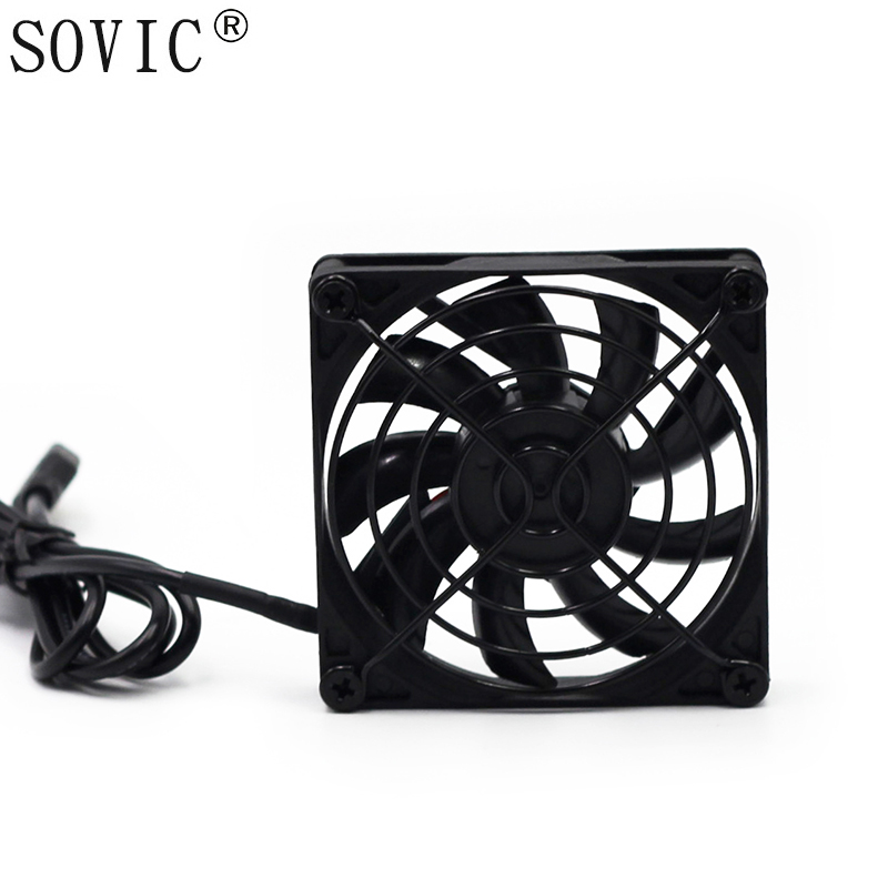 2 PCS Gdstime 5V USB 80x80x15mm 8015 Brushless DC Cooling Cooler PC CPU Computer Case <font><b>Fan</b></font> image