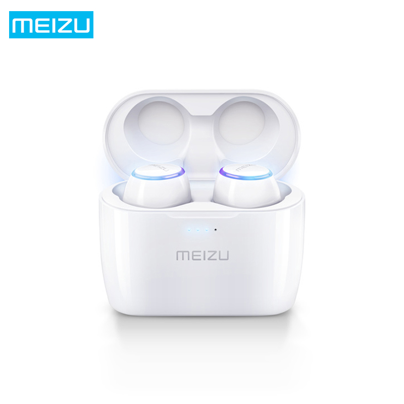 все цены на Original Meizu POP TW50 True Wireless Bluetooth Earphones TWS Mini Sport Waterproof Driving Headset Earbuds for iPhone Samsung онлайн
