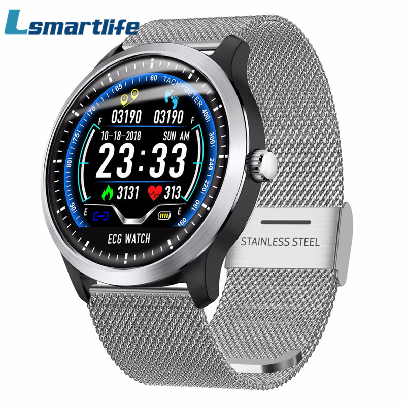 N58 ECG Smartwatch Men Heart Rate Monitor Smart Watch support Electrocardiogram Measurement 3D Multi sport Fitness TrackerN58 ECG Smartwatch Men Heart Rate Monitor Smart Watch support Electrocardiogram Measurement 3D Multi sport Fitness Tracker