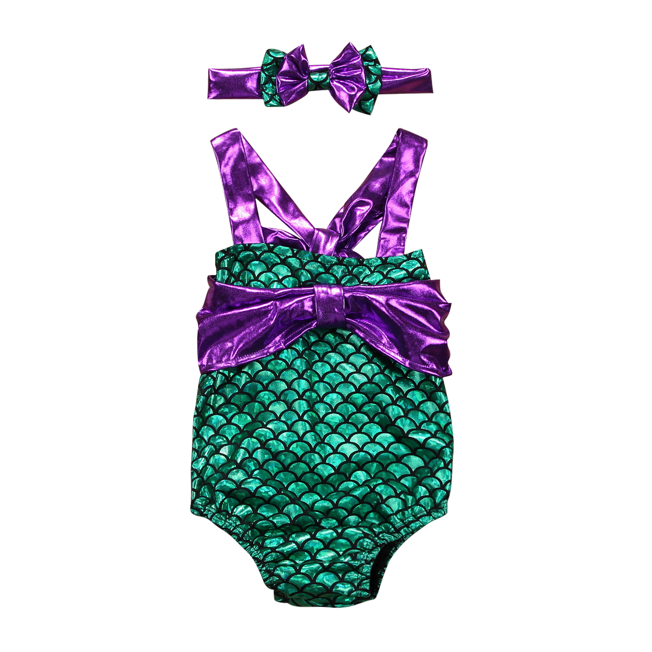 Luggage & Bags Enthusiastic Pudcoco 2pcs Kids Baby Girls Swimwear Summer Mermaid Swimsuit Swimming Headband Outfits Ste 0-24 Months Helen115