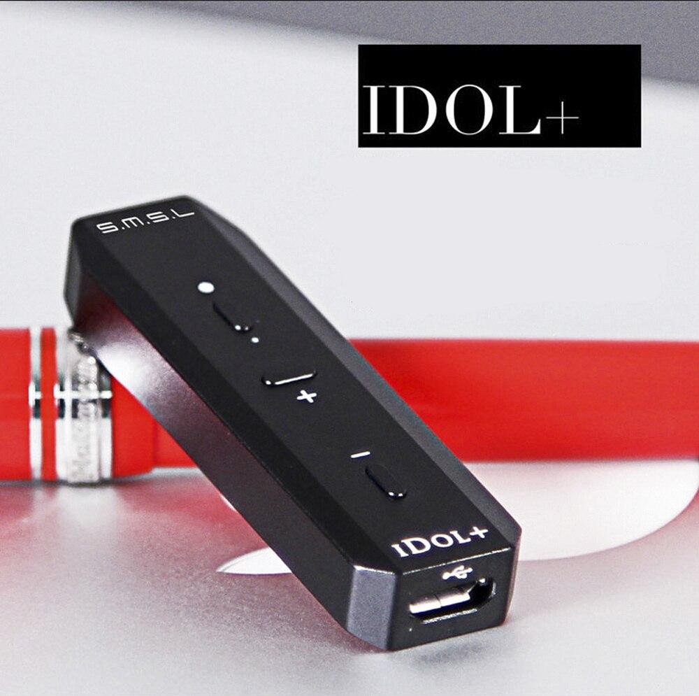 USB DAC SMSL idole + Mini casque amplificateur Audio Portable décodeur amplificateur Audio MAX97220A OTG réglage du Volume 24Bit/96 kHz