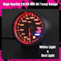 Dayo CR Type 60mm Oil Temperature Meter High Quality Oil Temp Gauge Racing Gauge Peak Value Setting