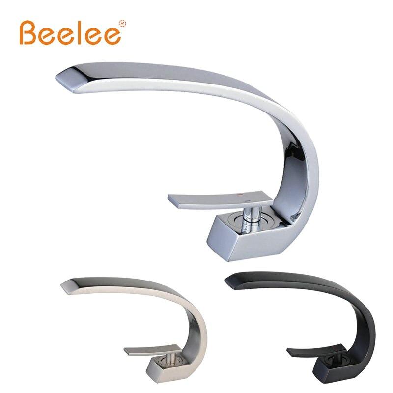 Beelee Creative Design Classic Basin Faucet Chrome Nickel And Black Torneira Do Banheiro Badkamer Kraan Mixer Tap Bl9006 Mixer Tap Basin Faucet Chromefaucet Chrome Aliexpress