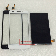 High Quality Black or white LCD Display + Touch Screen Digitizer For Huawei G620s G621 phone Parts