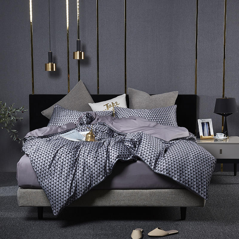 Luxo conjunto de cama algodão egípcio gêmeo rainha rei tamanho nordica conjuntos cama lençol conjunto capa edredão parrure de lit