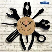 CV Instruments Cars Gift Wall Clock 12 inch