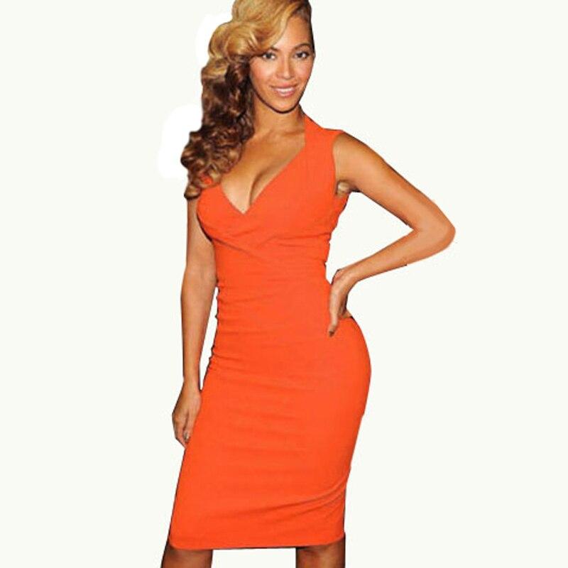 Cheap bright orange dresses