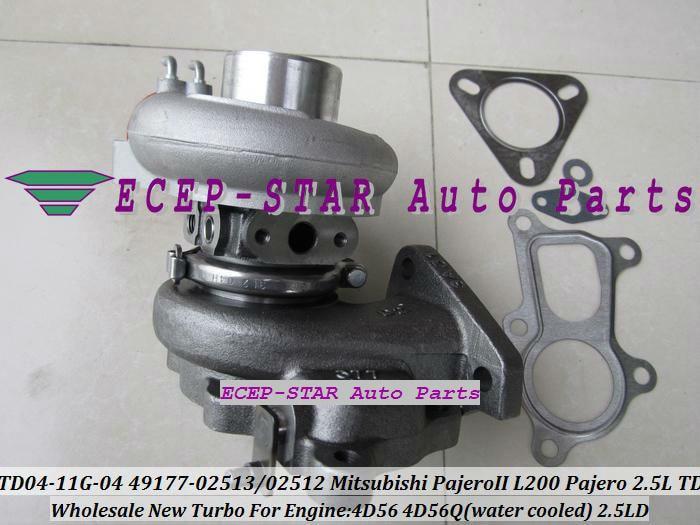 Бесплатная доставка TD04 49177-02513 49177-02512 28200-42540 49177-07612 турбо для Mitsubishi L200 MONTERO PAJERO galloper 4D56 4d56q 2.5l