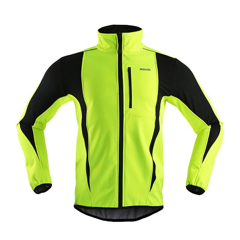 Jersey & Pant/short Sets Latest Collection Of Rockbros Winter Cycling Suit Fleece Thermal Jacket & Pants Windproof Green