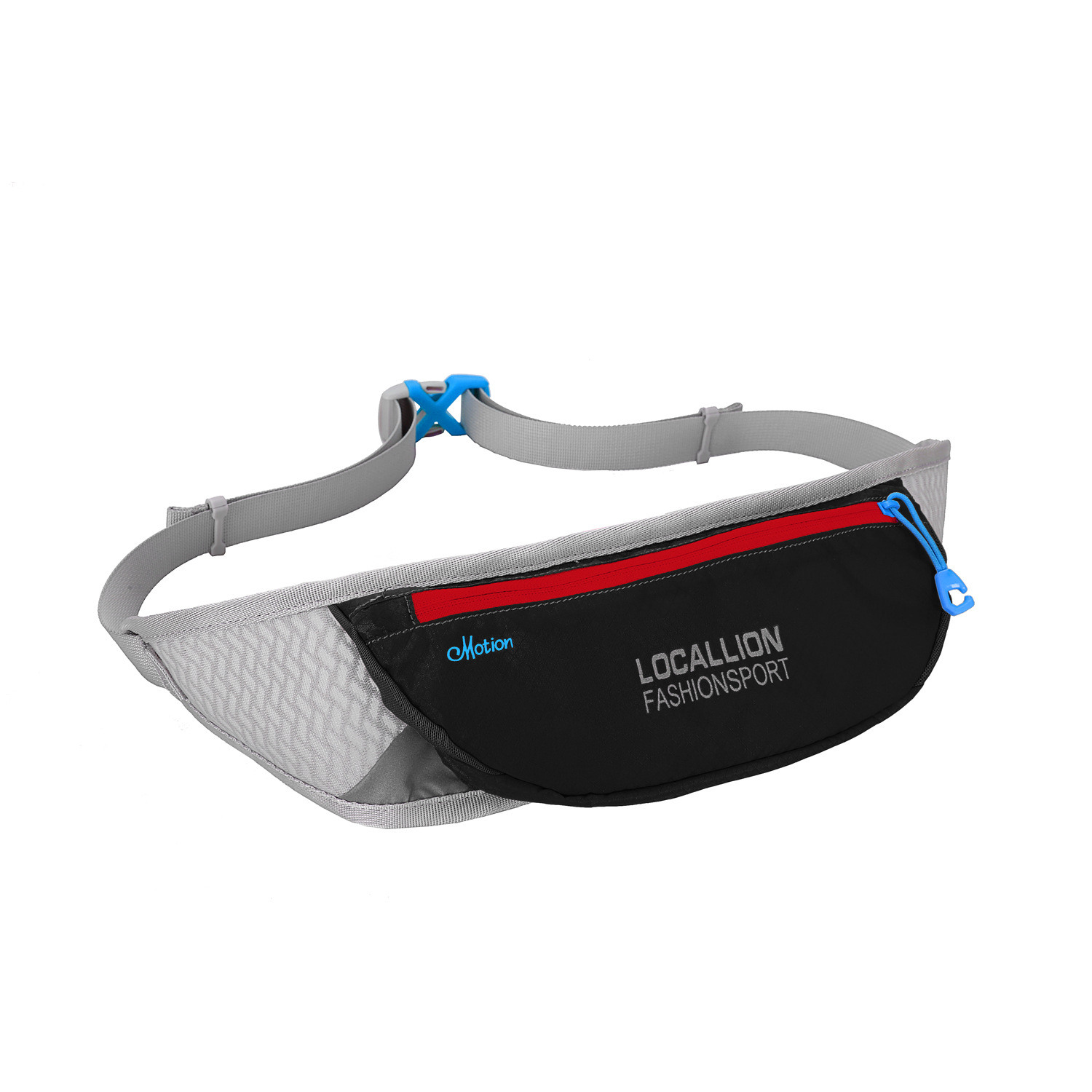 B155 Multifunctional outdoor running belt bag Sports and fitness pocket Invisible small mobile phone marathon bag 10 Inch