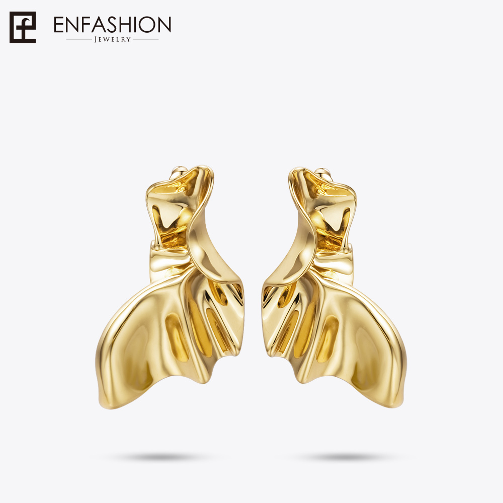 enfashion angel wings drop earrings for women gold color boucle d 39 oreille fantaisie earings