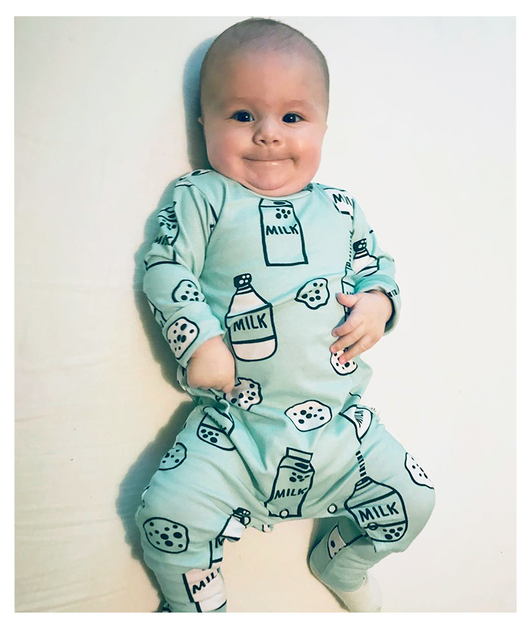 726f08fbfe5 Milk Bottle Onesie Rompers Tiny Cottons Newborn Boys Romper Girls Clothes  Dog Print Infant Baby ClothingLong Sleeved Jumpsuit