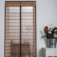 Stripe Anti Mosquito Screen Magnetic Net On the Door Automatic Closed Tulle Summer Kitchen Mesh Curtain Window mosquitera puerta