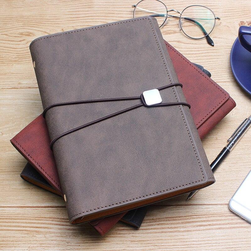 A5 Office Notebook Planner Spiral Ring Binder Notebook
