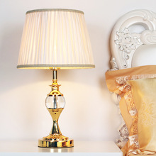 TUDA 30X53cm Free Shipping European Style Crystal Table Lamp Luxury Dimming Table Lamp for Living Room Bedroom Decor Table Lamp hot sale high grade tiffany table lamp european style retro lamp living room bedroom lamp glass luxury light