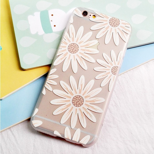 new product 1c5c6 750a3 US $2.6 |Clean Simple Design Colored Drawing Cell Phone Case for iPhone 6  6S 6 Plus 6S Plus 3D Embossed Printing Phone Cover Coque Shell on ...