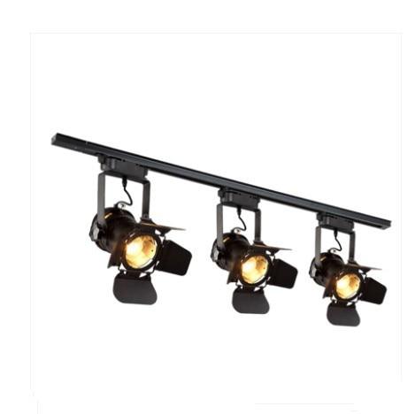 Loft Lamp Track Lighting Fixture Vintage Led Lights Clothing Bar Restaurant Ceiling Lamps