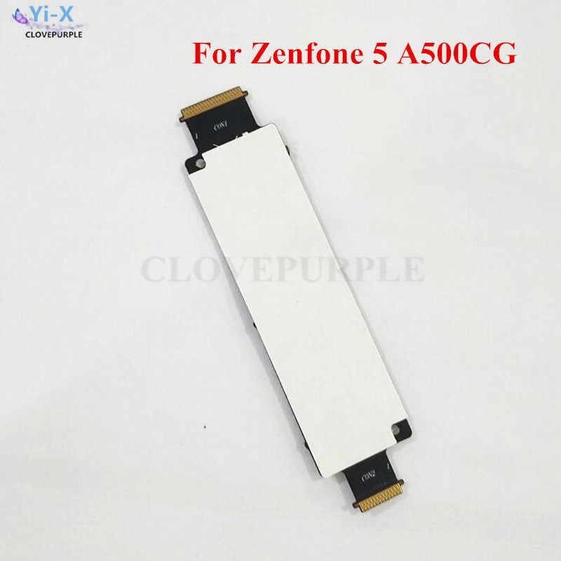 1 قطعة جديد المزدوج سيم موصل بطاقات حامل فليكس كابلات لابتوب اسيوس Zenfone 5 A500CG استبدال أجزاء